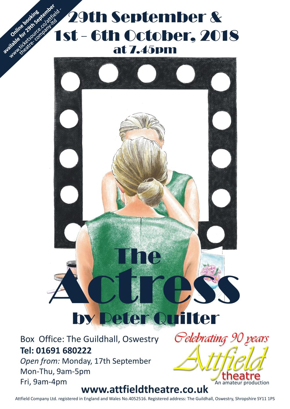 The Actress-A2 poster-page-001