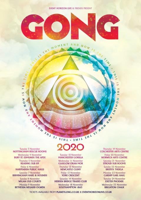 gong tour dates 2020
