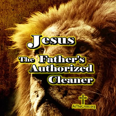 Jesus The Fathers Authorized Cleaner