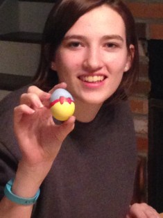 Loo Hoo made a Snow White egg!