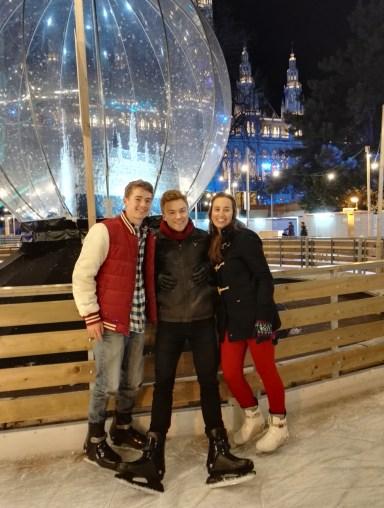 Doug, Richard and Charlotte