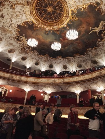 ..and from inside it's even fancier! Just a regular theater for common folks.