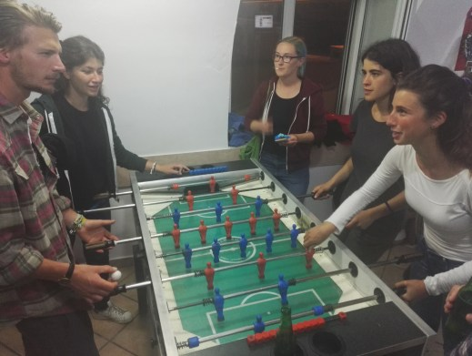 Know how to rule in foosball, otherwise you didn't have a chance against locals!
