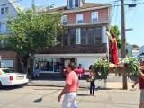San Nazario being carried down Alter Street