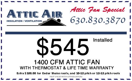 Attic Fan Special
