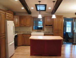 Andover, MN split level kitchen remodel