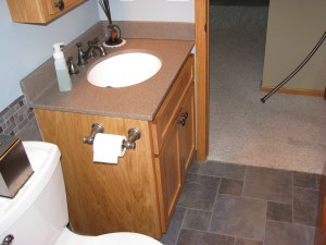 Main bathroom remodel update - Becker, MN