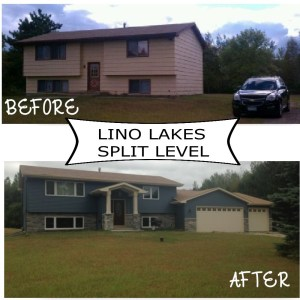 Lino lakes split level