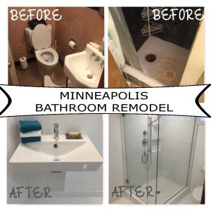 Minneapolis bathroom remodel