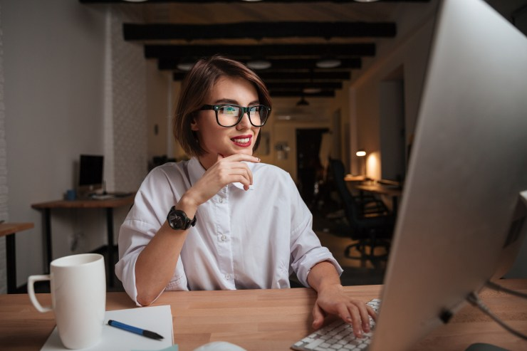 amazon business account woman