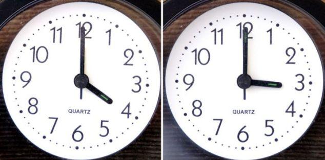 Αποτέλεσμα εικόνας για Την Κυριακή 30 Οκτωβρίου αλλάζει η ώρα