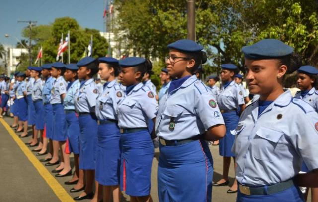 Colégios e creches da polícia militar abrirá vagas