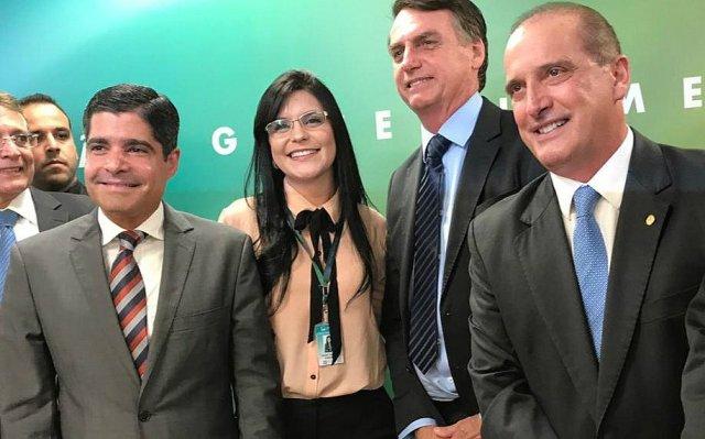 Acm Neto participa de reunião com Bolsonaro