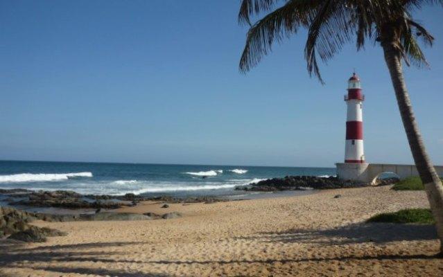 Salvador com praias impróprias para banho