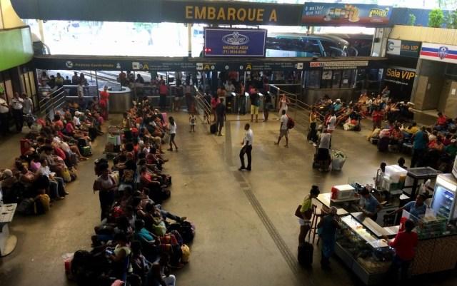 Rodoviária de Salvador conta com 700 horários extras