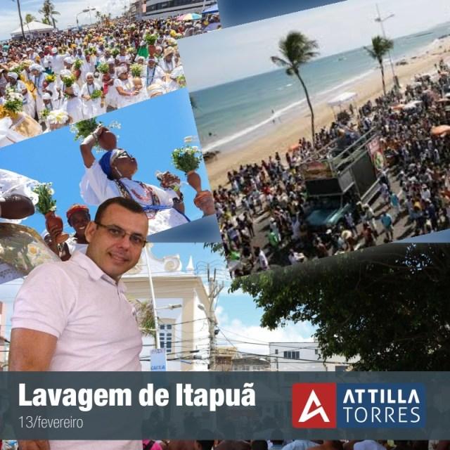 LAVAGEM DE ITAPUÃ COMEMORA 115 ANOS