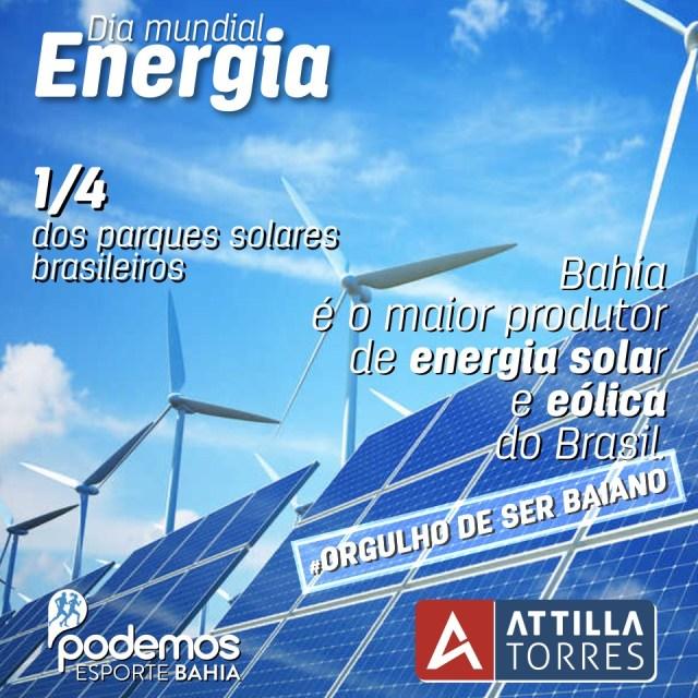 29 DE MAIO – DIA MUNDIAL DA ENERGIA