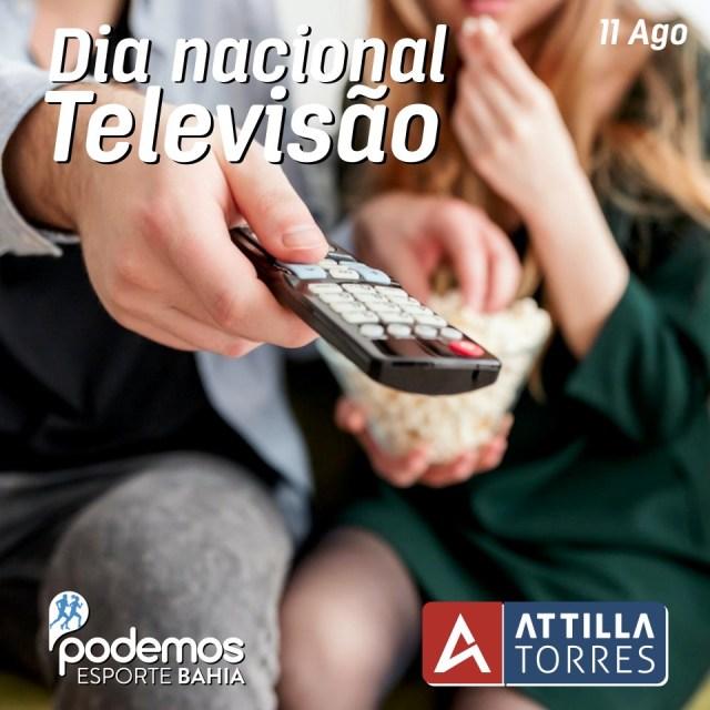 11 AGO- DIA NACIONAL DA TELEVISÃO