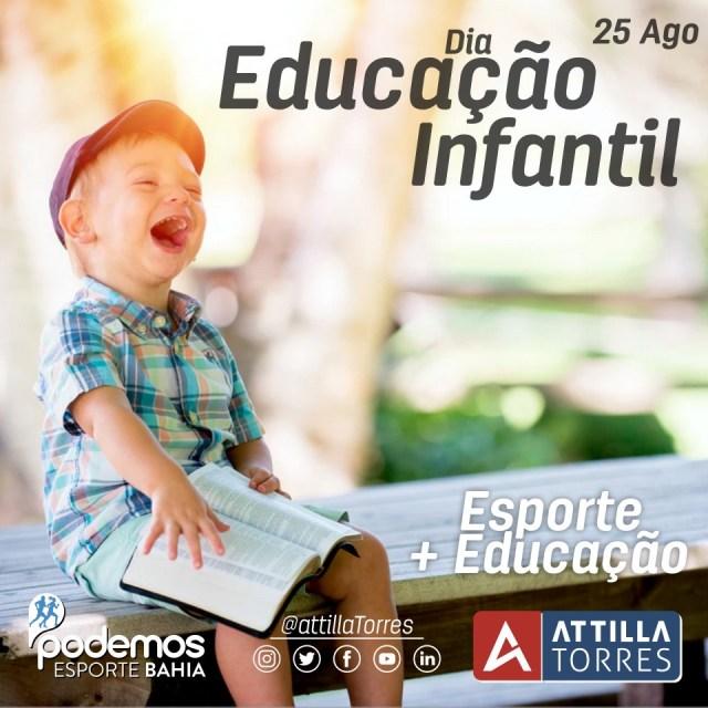 25 AGO- DIA DA EDUCAÇÃO INFANTIL