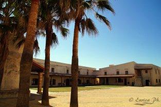 All'interno del Castello di Santa Catalina