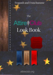 The Attire Club Look Book 2014 Cover art