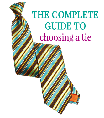 The complete guide to choosing a tie by Attire Club