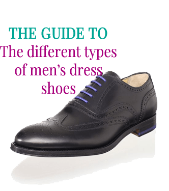 The guide to the different types of men's dress shoes by Attire Club
