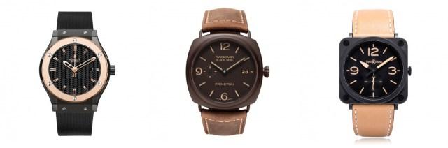 Ceramic watches
