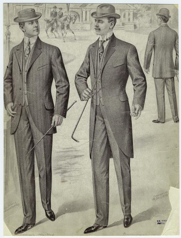 Image result for suits 1900s