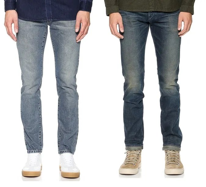 The Different Types of Jeans Cuts (B) – Attire Club by ...