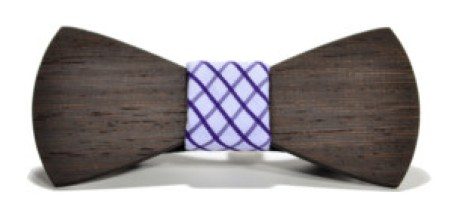 Manhattan single wooden bow tie SwitchWood