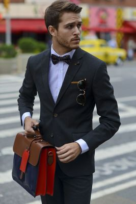 A Modern Fit suit