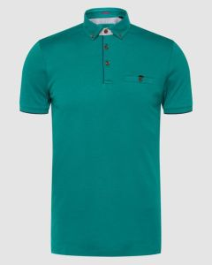 Teal polo shirt