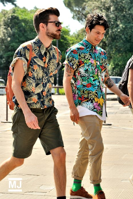The Guide to Wearing a Hawaiian Shirt (B) | Attire Club by Fraquoh and Franchomme