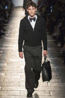 Yes, a bow tie goes with baggy pants.