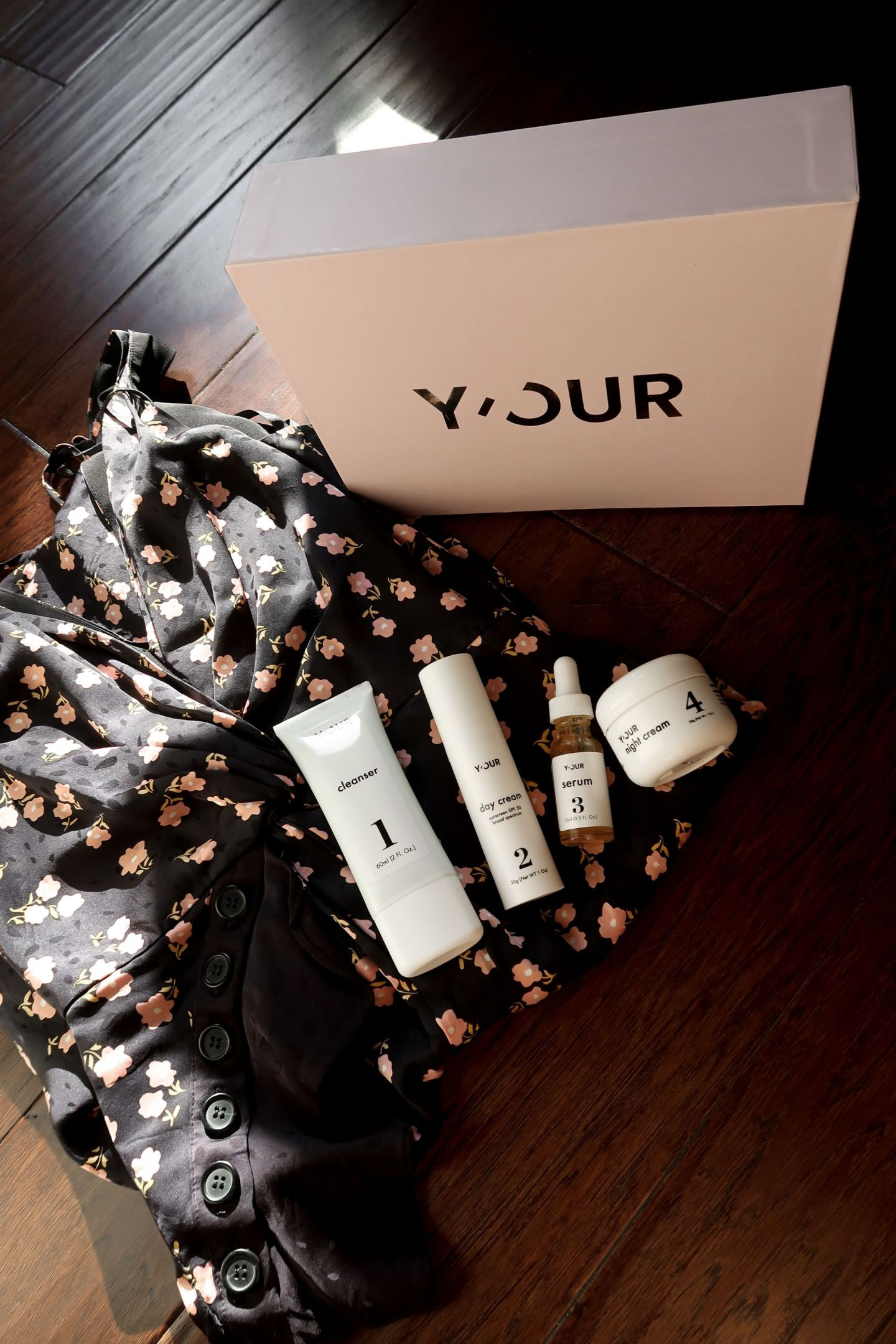 Custom skincare system for Y'OUR unique skin