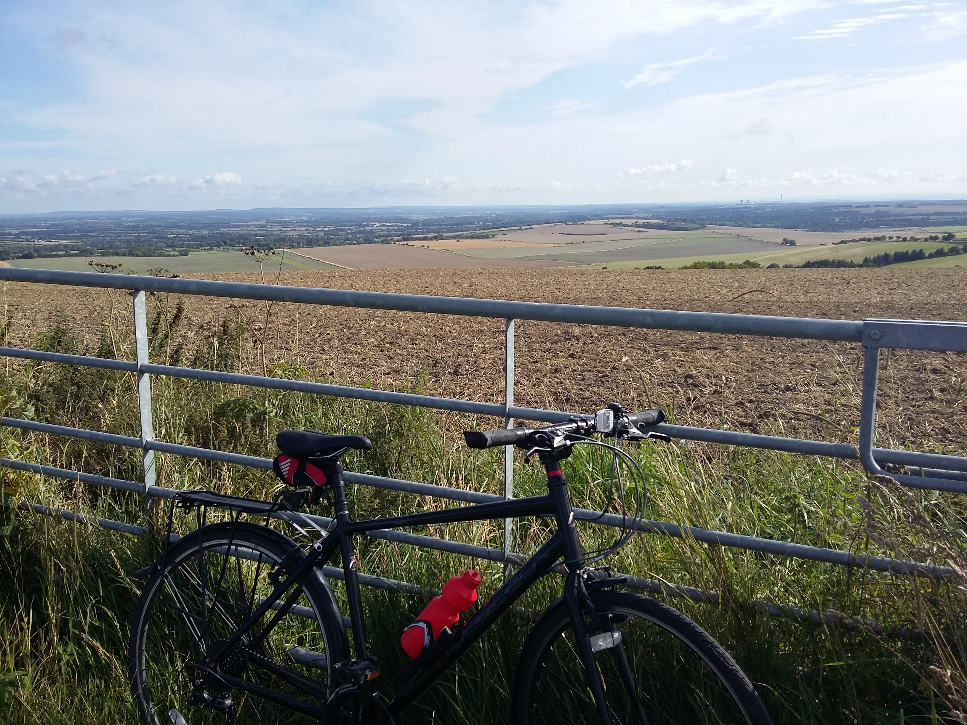 Cycling from Oxford to the south coast