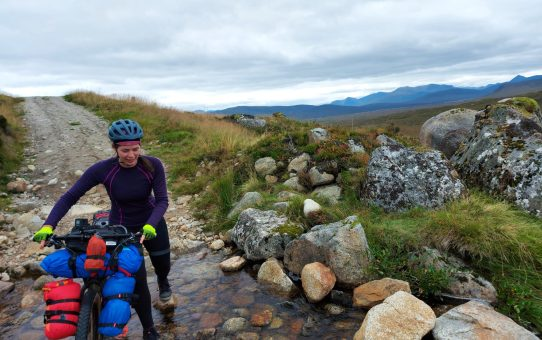 Cycling the Great North Trail in Scotland