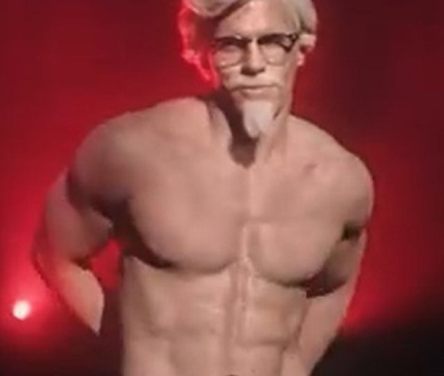 Kfcs Colonel Performs Strip Tease With The Chippendales Aka Chickendales Watch