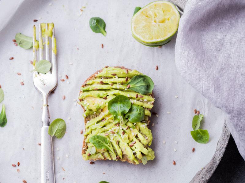 Avocado on toast Healthy Recipe