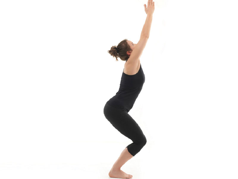 Chair Pose yoga poses for weight loss