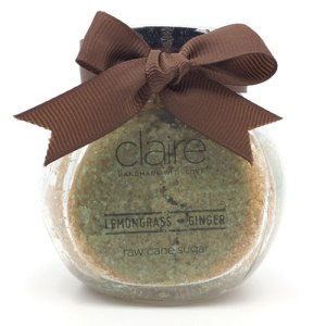 Claire Lemongrass Body scrub