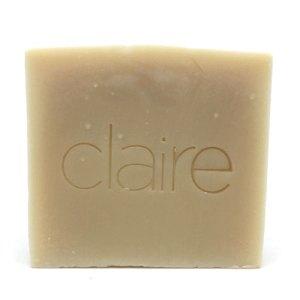 Claire goat milk soap