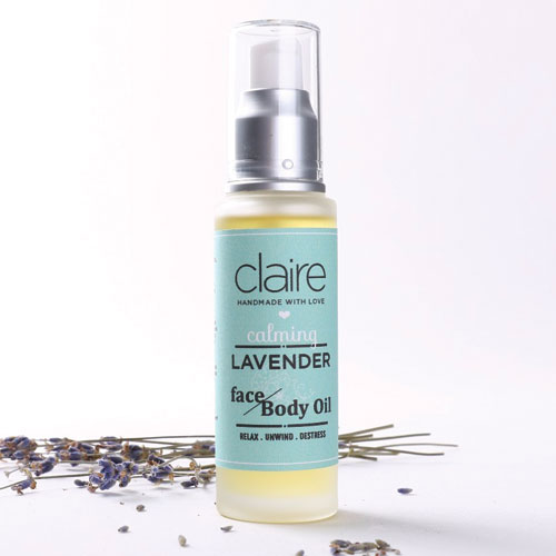 Calming Lavender Face & Body Oil
