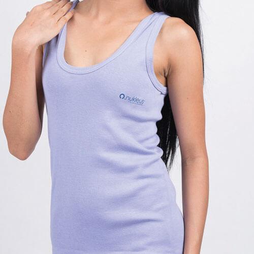 Purple Organic Cotton Top