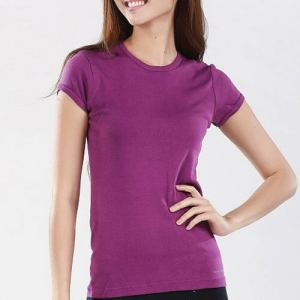 Purple Organic Cotton T-shirt