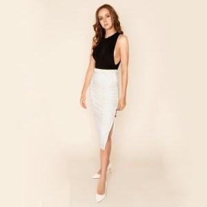 Attitude Organic Chloe Ethical Bodysuit Ciara Skirt