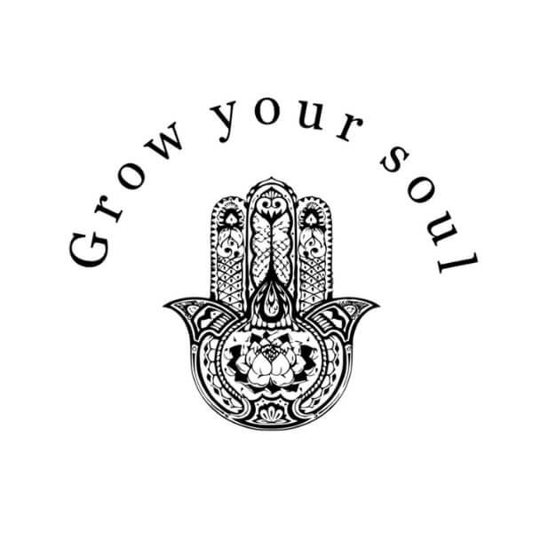 Grow your soul Organic Cotton Tee