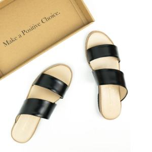 two strap ethical sandal