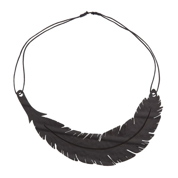 ANGEL FEATHER VEGAN NECKLACE